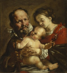Giovanni Serodine, Sacra Famiglia, 1625-1626 circa, tela, cm 65 x 60, Ascona, Patriziato (fotografia: Roberto Pellegrini)