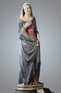 Tino DI CAMAINO, Vierge de l'Annonciation, Pise ?, avant 1315, bois, polychromie, Florence, Museo Stefano Bardini © Museo Stefano Bardini, Florence